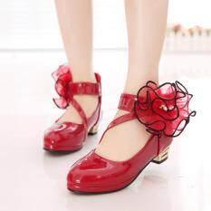Trẻ Em 4 Mùa Thu 5 Giày Cao Gót 8 Cô Gái Công Chúa Giày 9 Cỡ Vừa/lớn Giày Trẻ Em 7 Tuổi Trẻ Em Giày Múa Giày Học Sinh Thủy Triều 6