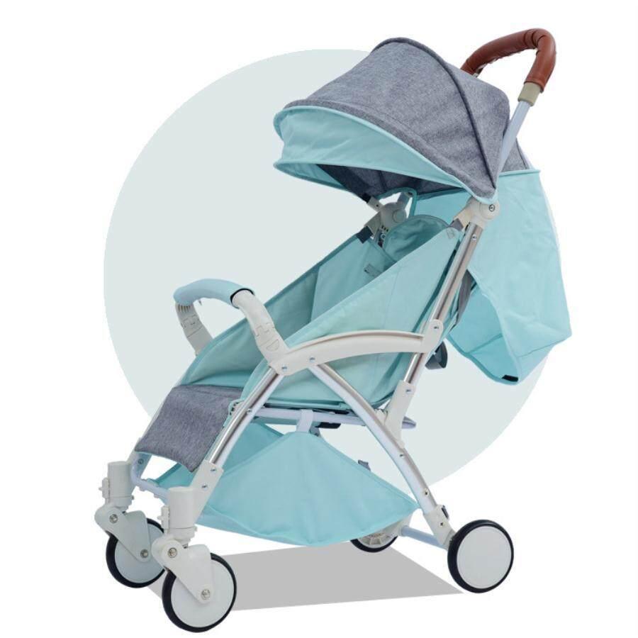 โปรโมชั่นลดราคา Baby รถเข็นเด็กสามล้อ Baby Life รถเข็นเด็ก 5ล้อ แบบใหม่ เบาะนิ่ม แถมร่ม แถมตะกร้า รับน้ำหนักได้60 kg น้ำหนักเบา2.8kg ที่มือเด็กจับมีขนาดสูงขึ้น ล้อข้างหลังไหญ่ มีไฟที่ล้อ รุ่น?TC4 รีวิวที่ดีที่สุด