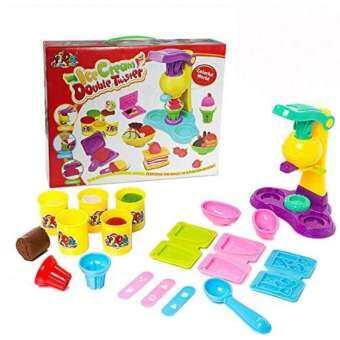 thetoy ชุด แป้งโด ทำไอสครีม + เครื่องทำไอสครีม ของเล่นเด็ก-
