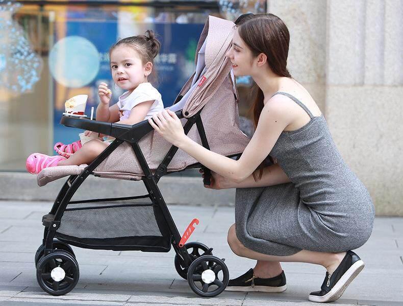 ข้อดีข้อเสีย รถเข็นเด็ก ปรับได้ 3 ระดับ(นั่ง/เอน/นอน)  น้ำหนักเบา 5.5KG สะดวกสบาย  รองรับน้ำหนักได้มากถึง 25kg ของแท้