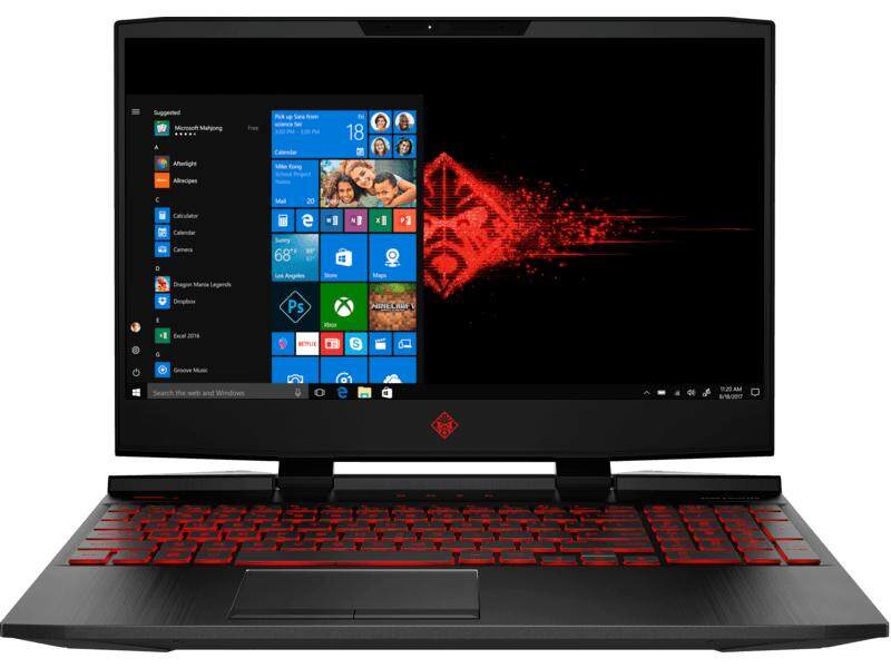 HP OMEN-15-DC0078TX (4QK16PA) Core i7-8750H 15.6-inch (8GB/1 TB HDD + SSD/Windows 10 Home/NVIDIA GeForce GTX1050/2 Years HP Warranty)