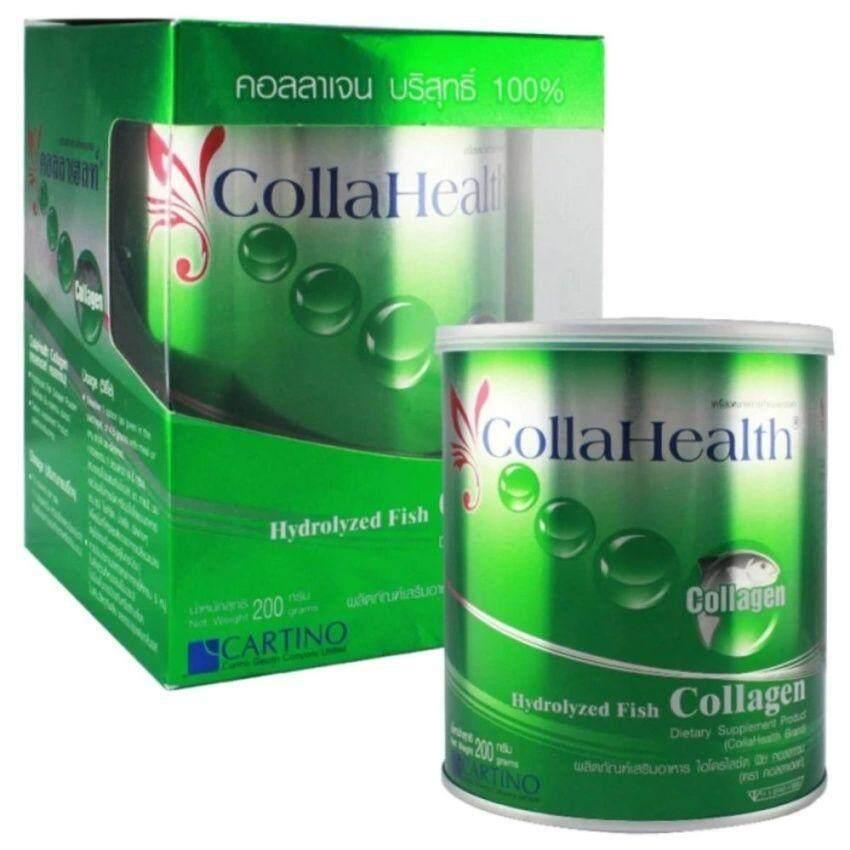 แนะนำ Collahealth Collagen คอลลาเจนบริสุทธิ์ คอลลาเฮลท์ 200 g. 1กระปุก