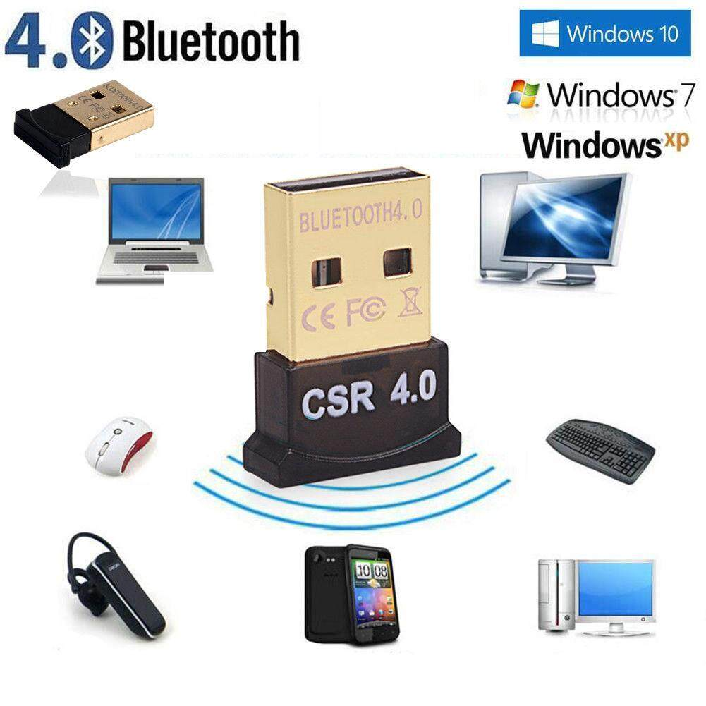For PC Laptop Win XP Vista7/ 8/10 Mini Wireless Bluetooth 4.0 USB Dongle Adapter