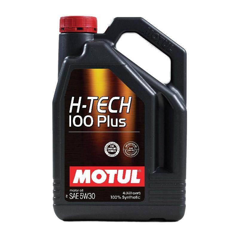 ซื้อที่ไหน MOTUL SAE 5W-30 H-TECH 100 PLUS น้ำมันเครื่อง ขนาด 4 ลิตร