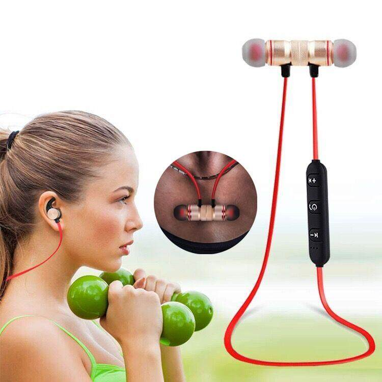 ลดราคาเพื่อคุณ หูฟัง Bluetooth Henny Store หูฟัง ไร้สาย รุ่น XT-6 Wireless Smart Sport Stereo คลิ๊กรับคูปองส่วนลด
