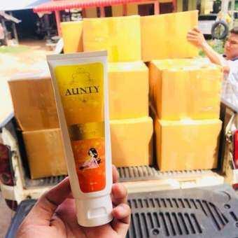 ราคา ครีมกระชับหน้าอก นมโต By Aunty 100 g. (1 หลอด )
