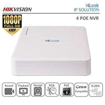 NVR Hilook 104-B/4P By Hikvision 4 ช่อง มี POE