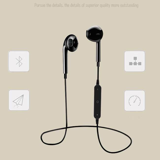 ขายถูกสุดๆ หูฟัง Null [Buy 1 Get 1 Free Gift] [Promotions] Magnet Wireless Bluetooth Sports Earphone Headset Headphone for iPhone Android Black เก็บเงินปลายทาง ส่งฟรี