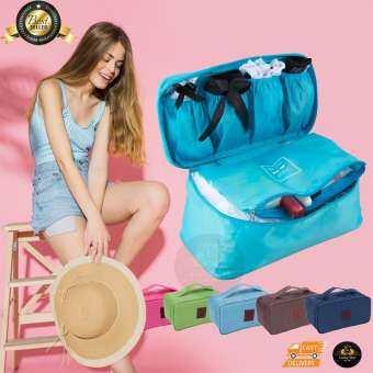 กระเป๋าใส่ชุดชั้นใน กางเกงใน พกพา เพื่อเดินทาง Travel Bra and Pantie Bag-