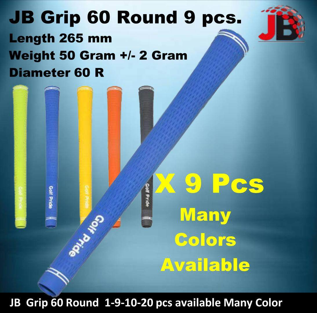 JB Standard Tour Golf Grip 60 Round ( 1-9-10-20 pcs ) Many Color Available