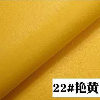 หนังPU เนื้อผ้าหนังเทียม Napa เส้นละเอียดรถยนต์โซฟากันน้ำงานฝีมือ DIY หนังเทียมกระเป๋านุ่นกระเป๋าแข็ง