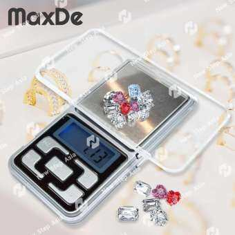 MaxDe เครื่องชั่งดิจิตอล 0.1 - 500 g ตาชั่งดิจิตอล เครื่องชั่งดิจิตอลขนาดพกพา เครื่องชั่งน้ำหนัก เคร-