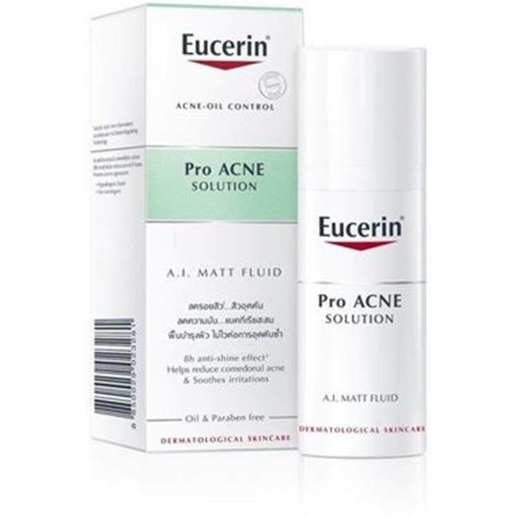 Eucerin Pro ACNE SOLUTION A.I. MATT FLUID 50ml Exp 08/2021