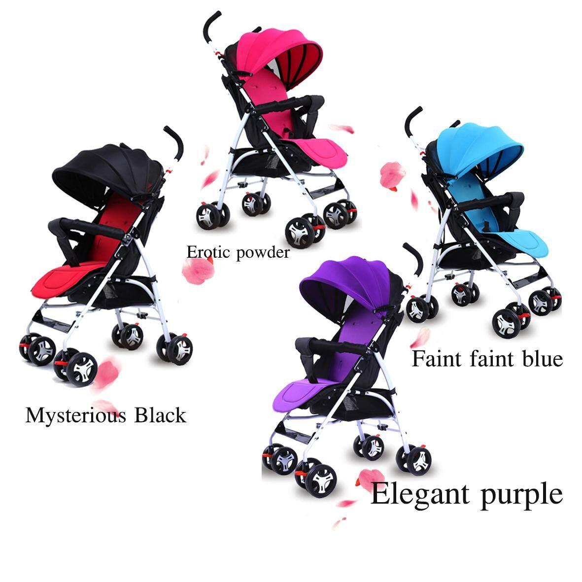 เช็คราคา Baby รถเข็นเด็กสามล้อ Baby Style รถเข็นเด็ก 5ล้อ แบบใหม่ เบาะนิ่ม แถมร่ม แถมตะกร้า รับน้ำหนักได้60 kg น้ำหนักเบา2.8kg ที่มือเด็กจับมีขนาดสูงขึ้น ล้อข้างหลังไหญ่ มีไฟที่ล้อ รุ่น?TC4 ขายถูกที่สุดแล้ว