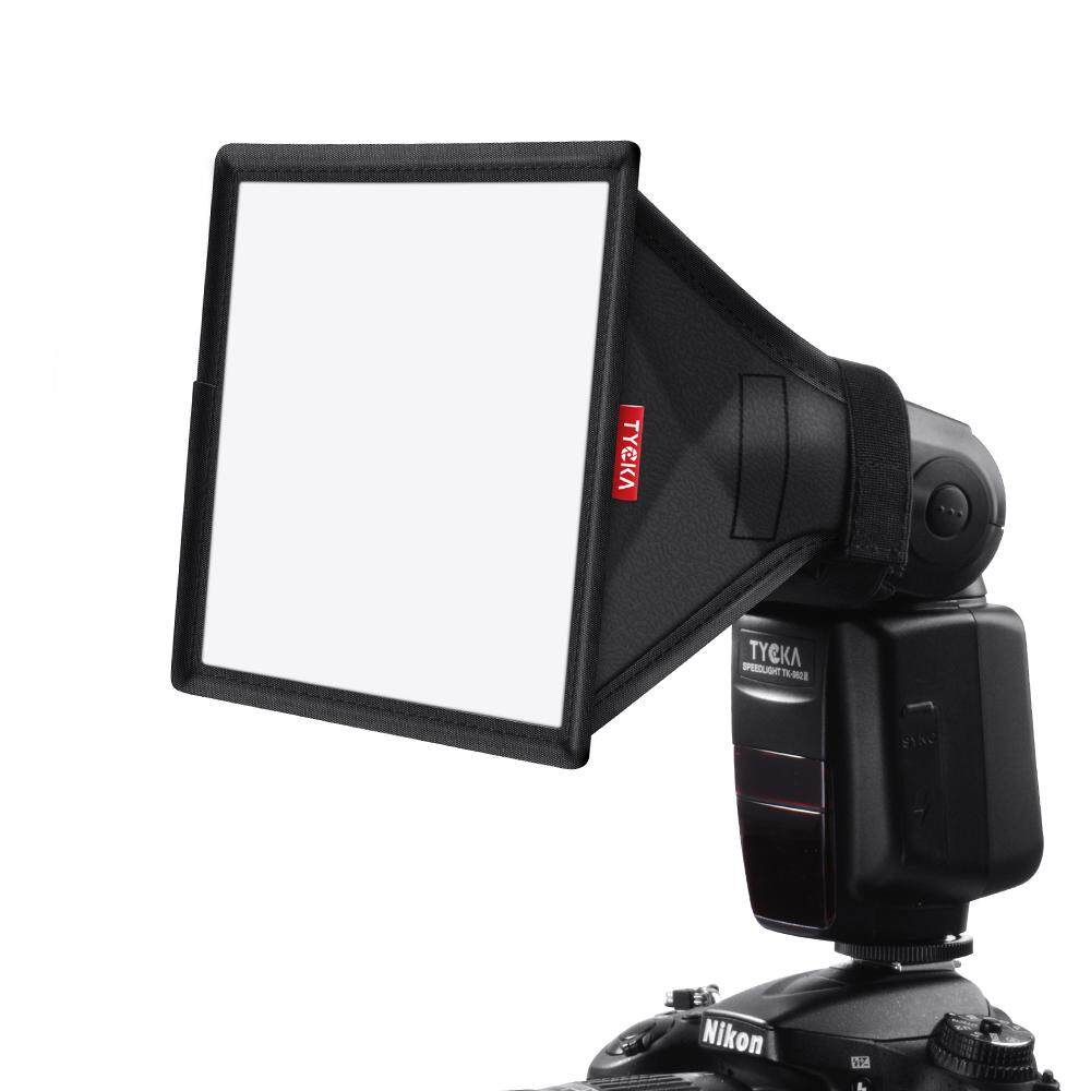 "TYCKA 6×5"" Flash Softbox Diffuser (Universal, Collapsible) for Nikon, Canon, Sony, Yongnuo and Other DSLR"