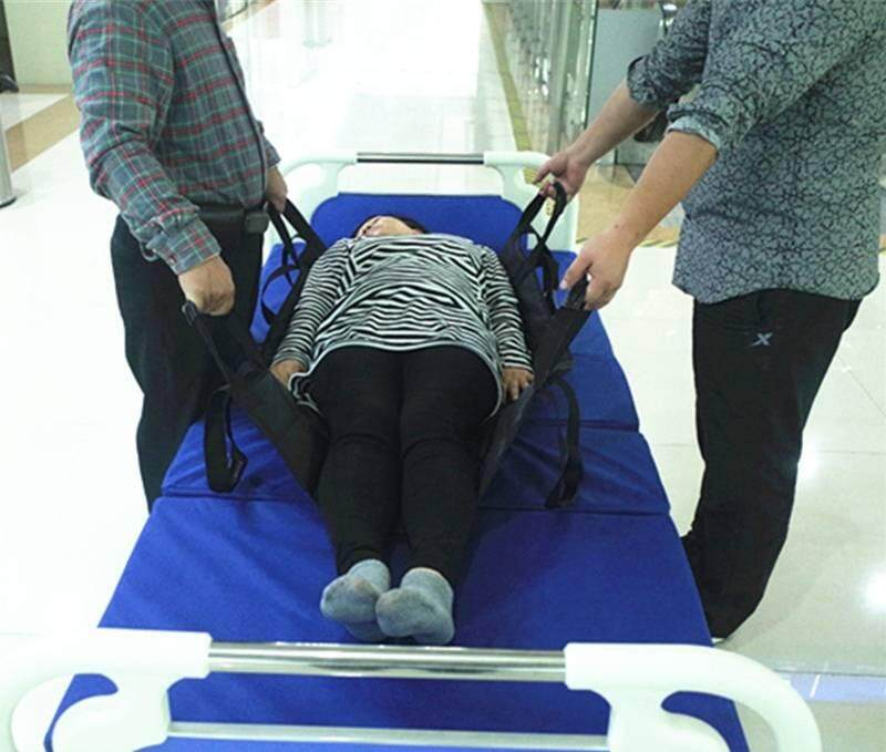 ผ้ายกผู้สูงอายุ เปลยกผู้ป่วย กันน้ำ + ยาว ผ้ายกตัว ผ้าประคองตัวผู้สูงอายุ ยกง่าย เนื้อผ้าหนา