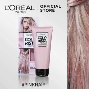 รีวิว ลอรีอัล ปารีส คัลเลอร์ริสต้า วอชเอาท์ สี PINK HAIR L'OREAL PARIS COLORISTA WASHOUT PINK HAIR (Colorista, เปลี่ยนสีผมชั่วคราว, ทำสีผม, ไฮไลท์)
