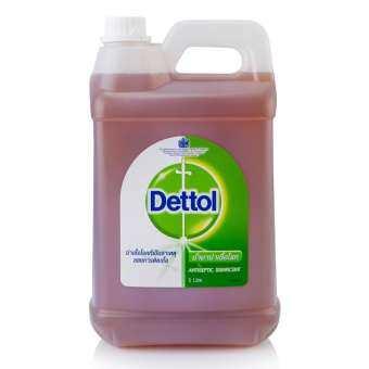 น้ำยาถูพื้น  น้ำยาฆ่าเชื้อโรค  เดทตอล ขนาด 5000 มล.