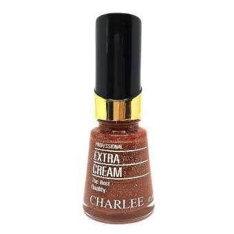 Charlee Nail Polish ยาทาเล็บชาลี 15 ml. สีผสมกากเพชร เบอร์ G04-