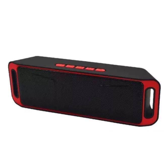 ขายดีที่สุด ลำโพงแบบพกพา Remax ลำโพงบลูทูธพกพา Wireless Speaker Super Bass รุ่น SC-208 ของแท้ ส่งฟรี
