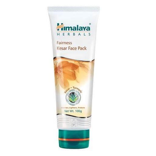 (มาส์กปรับสภาพขาวใส) Himalaya Fairness Kesar Face Pack 100Ml