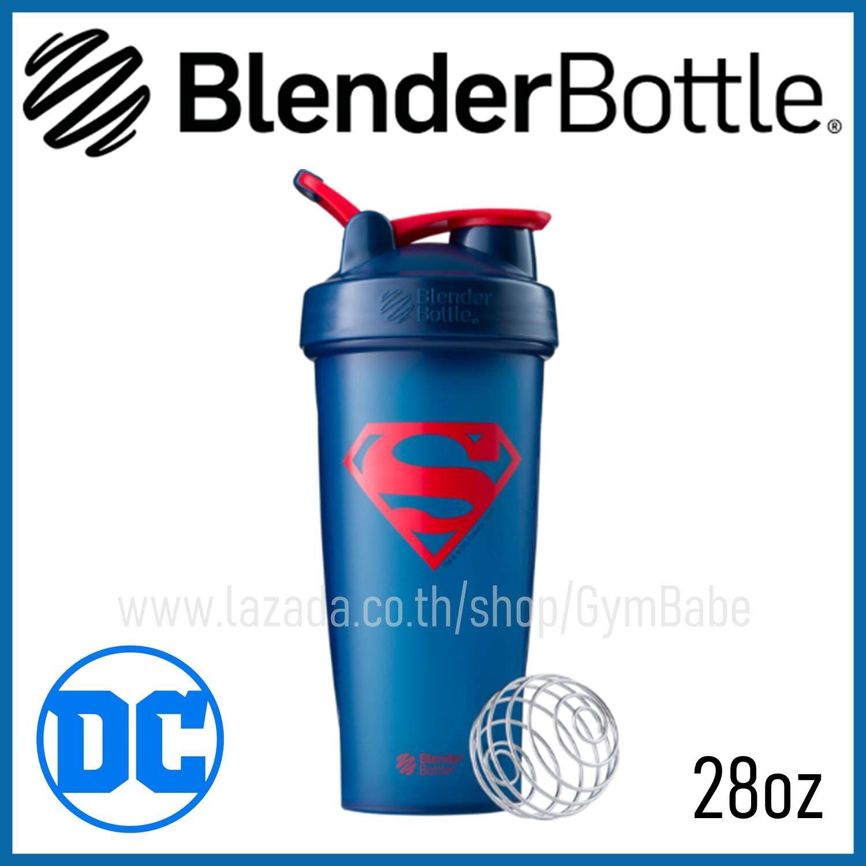(ลายSuperman) แก้วเชค Blender Bottle รุ่น DC Comics Superhero แก้วShake BlenderBottleของแท้ นำเข้าจากอเมริกา