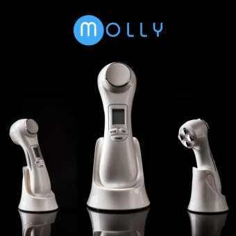ราคา เครื่องนวดหน้า Multifunction 6 in 1 Molly&Co (White)
