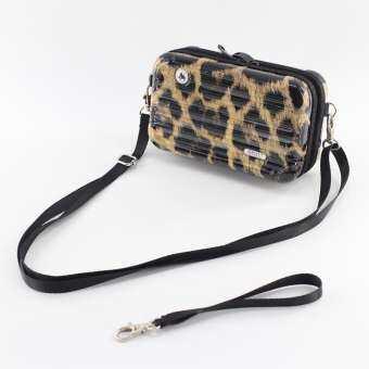 มัลติฟังก์ชั่นมินิกระเป๋าเครื่องสำอางไซส์เล็กเรียบง่าย PC ติดตัวกระเป๋าจัดระเบียบของสะพายข้างเดินทางกล่องแปรงฟันน่ารักผู้หญิงกระเป๋า