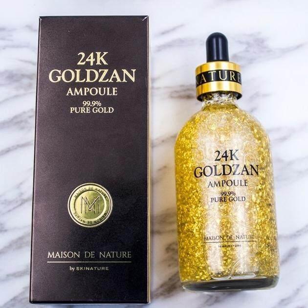 ราคาส่ง 24k goldzan ของแท้ 100ml เซรั่มทองคำ นำเข้าจากเกาหลี