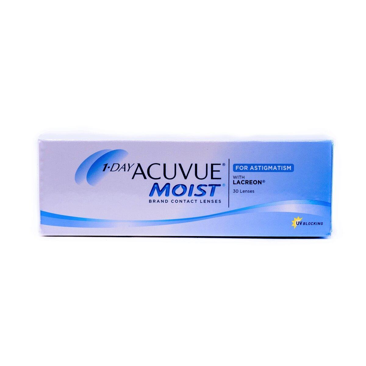 Acuvue Moist 1 Day (สายตาเอียง).