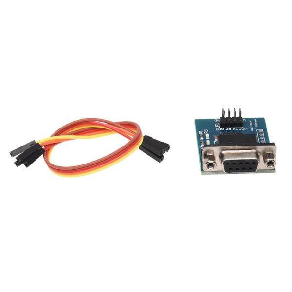 Giá RS232 Serial Port To TTL Converter Module MAX3232 5V / 3.3V W / Jump Cables