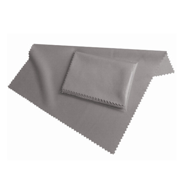 Fiber Display Cleaning Cloth 19x20 cm in gray, for all Smartphones & Tablet PCs - Display Cloth Clean - Screen Cloth