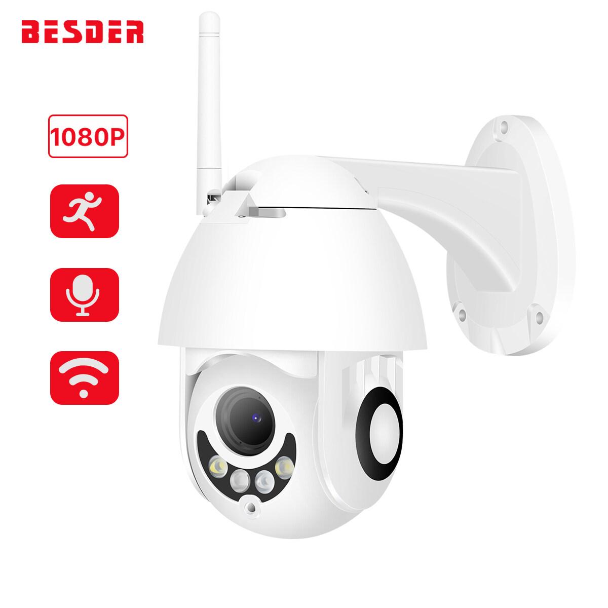 1080P Outdoor Security IP Camera IR Night HD Audio WIFI  Waterproof Wireless Cam
