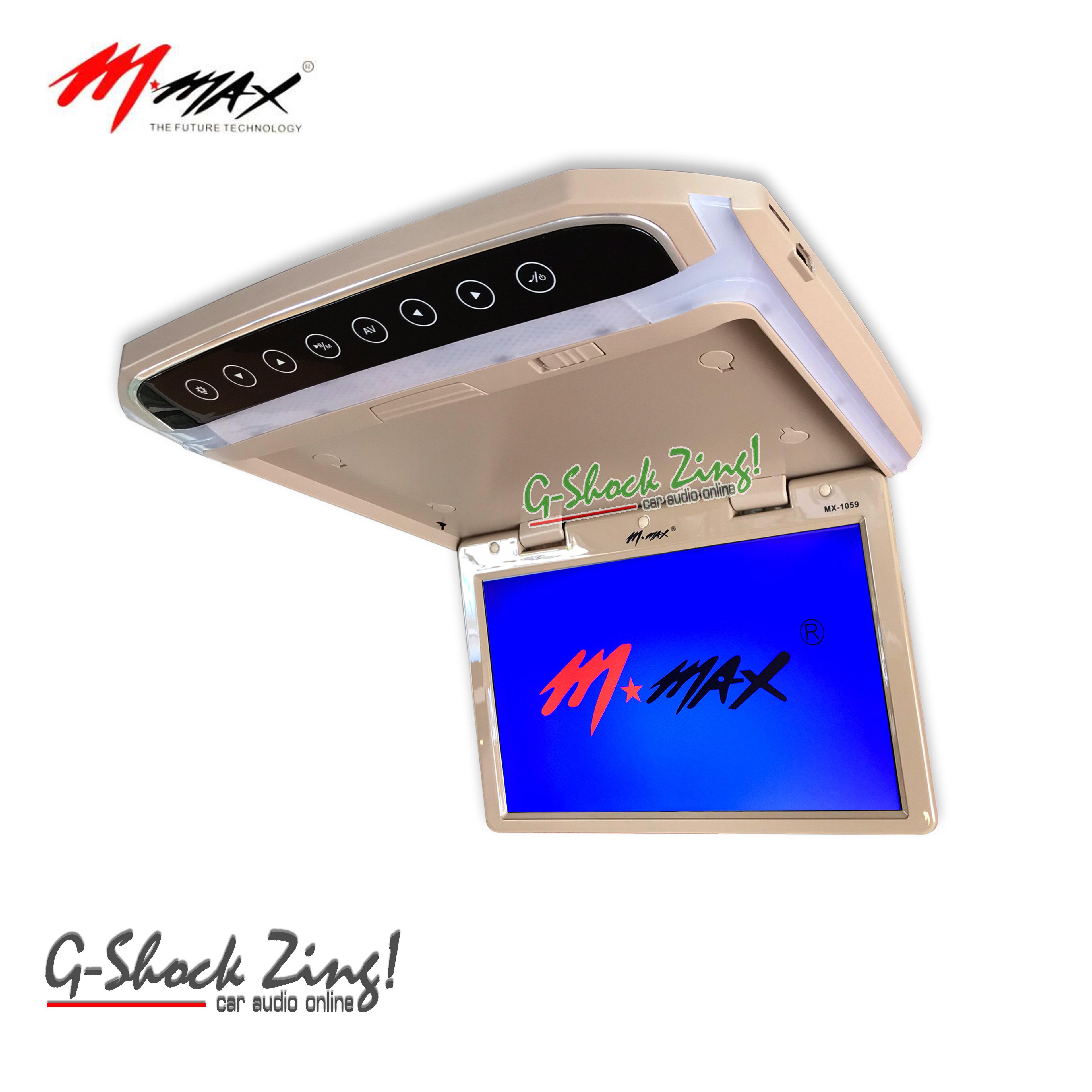 M-MAX TVทีวีติดเพดานรถยนต์ จอขนาด 10