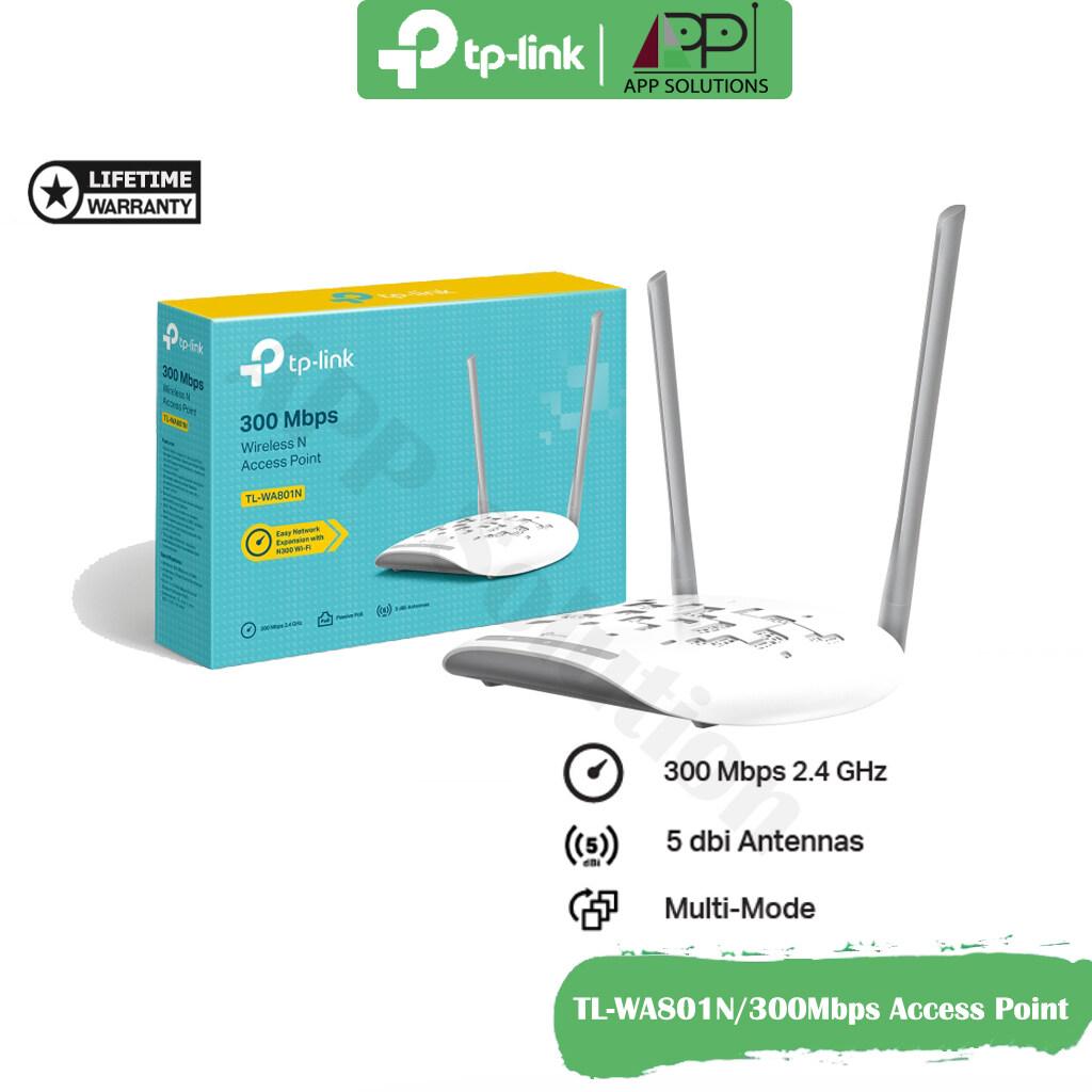 Tp-Link Tl-Wa801n(wifi 300mbps Wireless N)ตัวกระจายสัญญาณ Access Point(แอคเซสพอยต์)-App Solution.