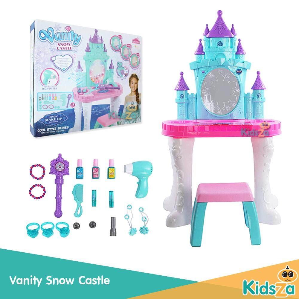 ชุดโต๊ะเครื่องแป้งเจ้าหญิง Vanity Snow Castle By Kidsza Shop.
