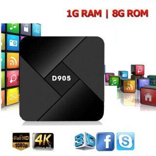 EKDWET 1GB + 8GB Quad Core Android HDMI D905 Hỗ Trợ WIFI Hộp TV 3D 2.4G Thông Minh TV Box, Đầu Thu TV Máy Phát Đa Phương Tiện thumbnail