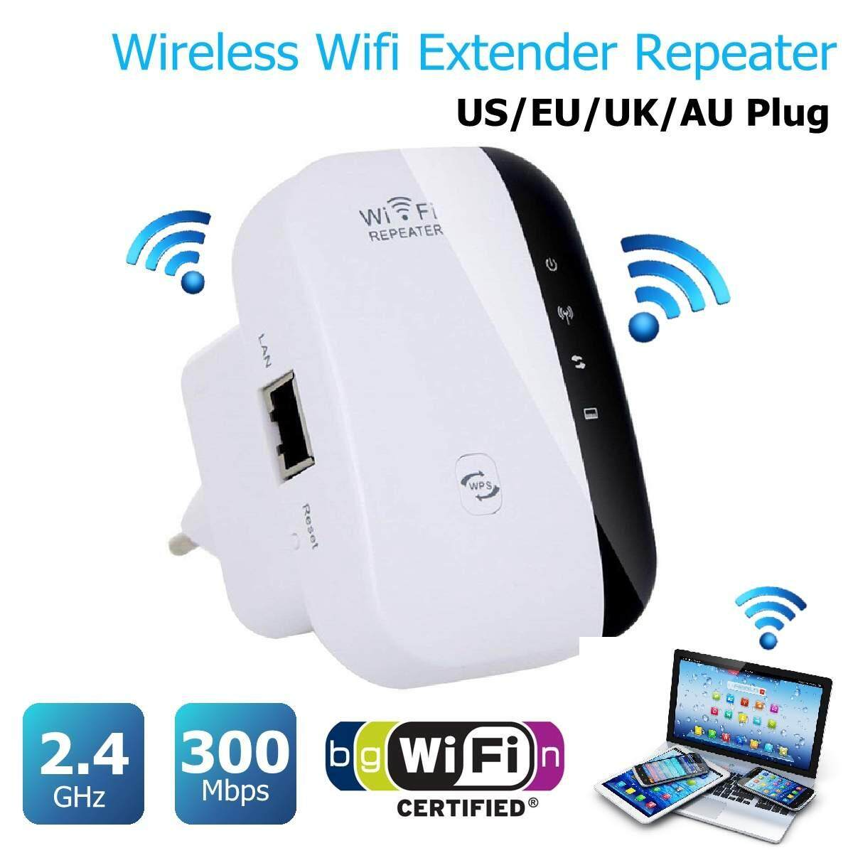 300M Wireless-N Wifi Repeater 2.4G AP Router Signal Booster Extender Amplifier