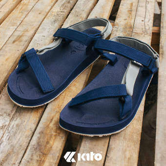 Kito รองเท้าแตะ รองเท้าแตะรัดส้น รองเท้ารัดส้น KE702 Size 36-46