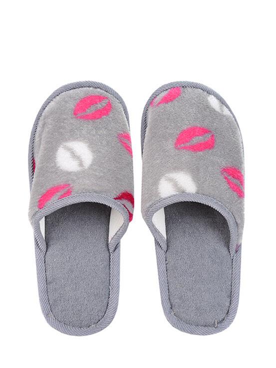 รองเท้าสลิปเปอร์ รุ่น Fnw1pm468 ลายรูปปาก สีเทา ไซส์ S ของใช้ในบ้าน เครื่องใช้ไฟฟ้าและของแต่งบ้าน Just Buyรองเท้า Slipper รองเท้าสลิปเปอร์จากแบรนด์just Buy ผลิตจากวัสดุที่ยึดเกาะพื้นผิวได้ดีทำให้ไม่ลื่นระบายอากาศได้ดี ไม่อับชื้น และไม่ทำให้เหม็.