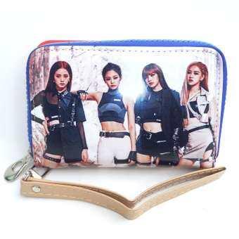 กระเป๋าสตางค์ ลาย Black Pink-