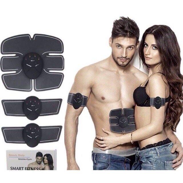 Smart Fitness Beauty Body Mobile-Gym เครื่องกระตุ้นกล้ามเนื้อระบบไฟฟ้า.