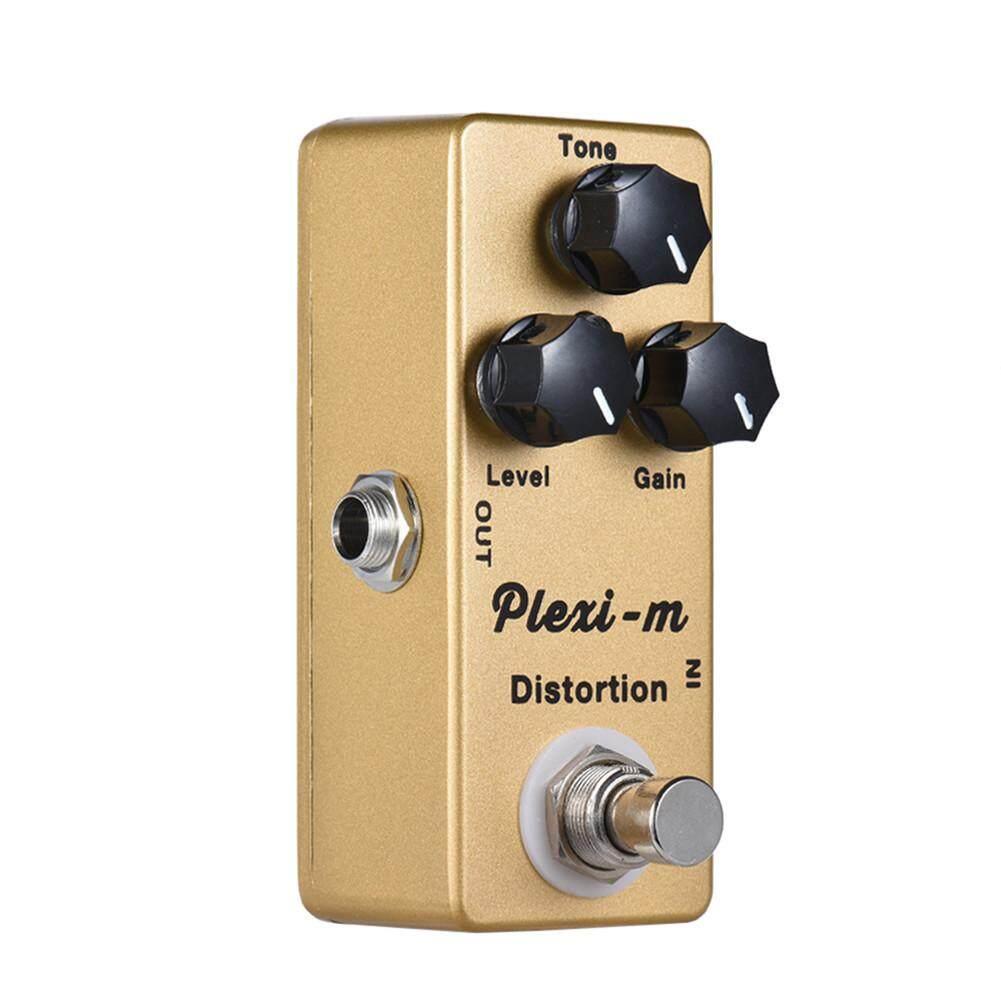 Mosky Plexi-M Đàn Guitar Điện Biến Dạng Tác Dụng Bàn Đạp Vỏ Bằng Kim Loại True Bypass