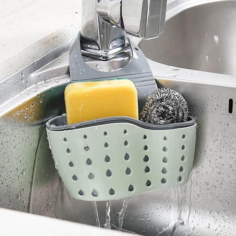 ที่ใส่ฟองน้ำล้างจาน ที่ใส่แปรงสีฟัน ที่แขวนซิงค์ล้างจาน By Caz.