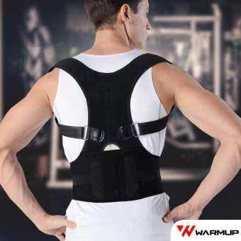 Warm Up ที่บล็อคหลัง เสื้อพยุงหลัง เข็มขัดพยุงหลัง แก้ปวดหลัง อุปกรณ์ออกกำลังกาย Lumbar Support