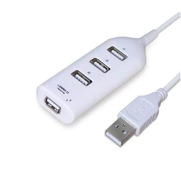 อะแดปเตอร์ Hub Usb Hub Mini Usb 2.0 Hi - Speed 4 - Port Splitter สำหรับ Pc แล็ปท็อปโน้ตบุ๊คเครื่องรับสัญญาณอุปกรณ์ต่อพ่วงคอมพิวเตอร์อุปกรณ์เสริม By Online.nk.in.th.