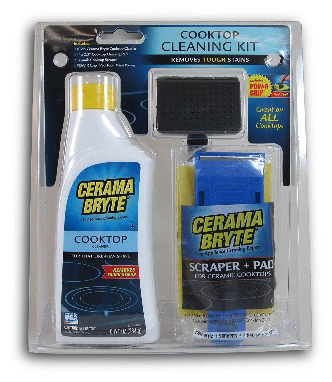 Cerama Bryte : Cmb27068* ชุดทำความสะอาดหน้าเตาไฟฟ้า Cooktop Cleaning Kit By Tadee.