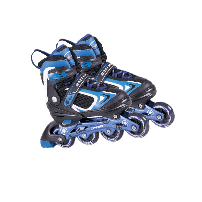 Mua Feile straight row roller skating shoes childrens full set roller skating boys and girls beginners adjustable professional children