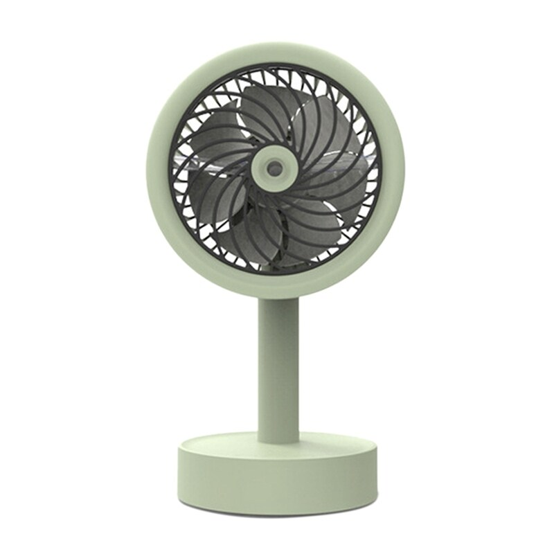 Bảng giá USB Desk Fan 3 Speeds Adjustable USB Rechargeable Table Cooling Fan Strong Wind Quiet with Spray Function Phong Vũ