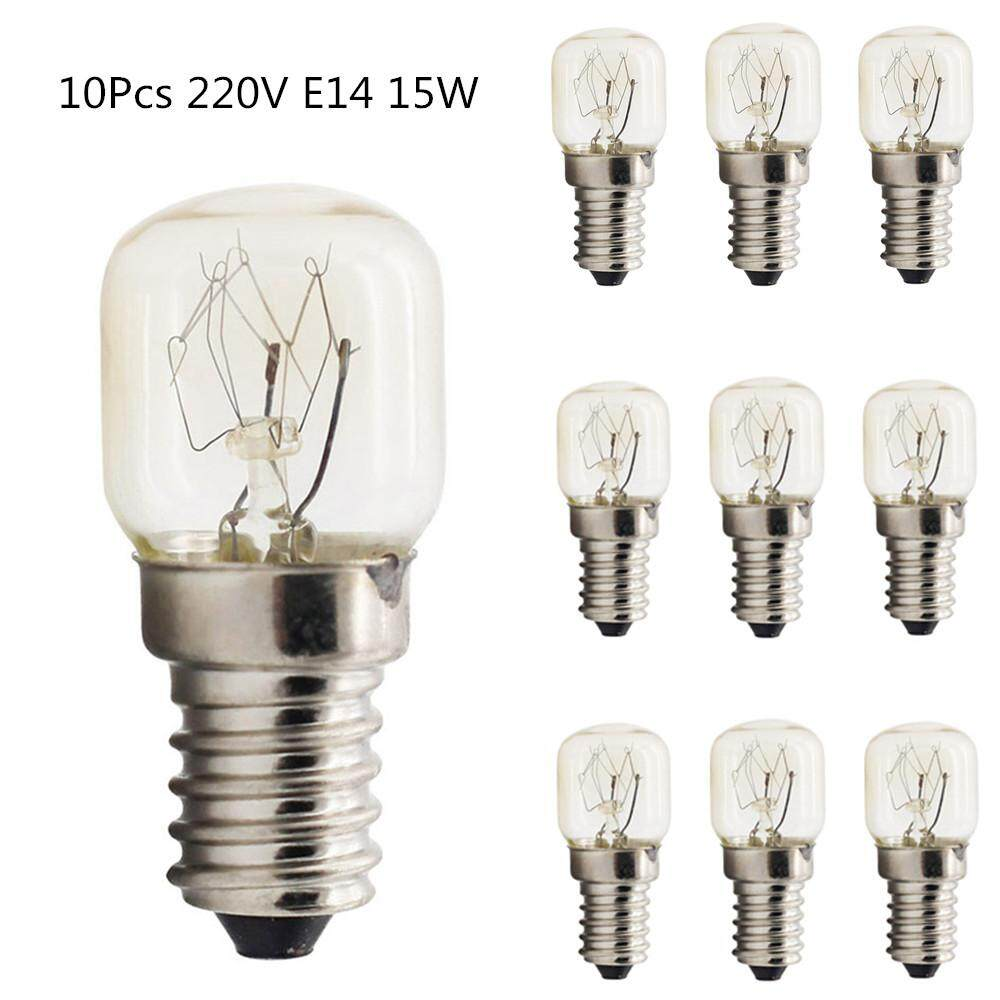 Kitchen Appliance Parts Beautiful 1 Piece New Small Screw E14 25w 220v 300 Degree High Temperature Light Bulb Oven Microwave Light Bulb Kitchen Appliance Parts Home Appliance Parts